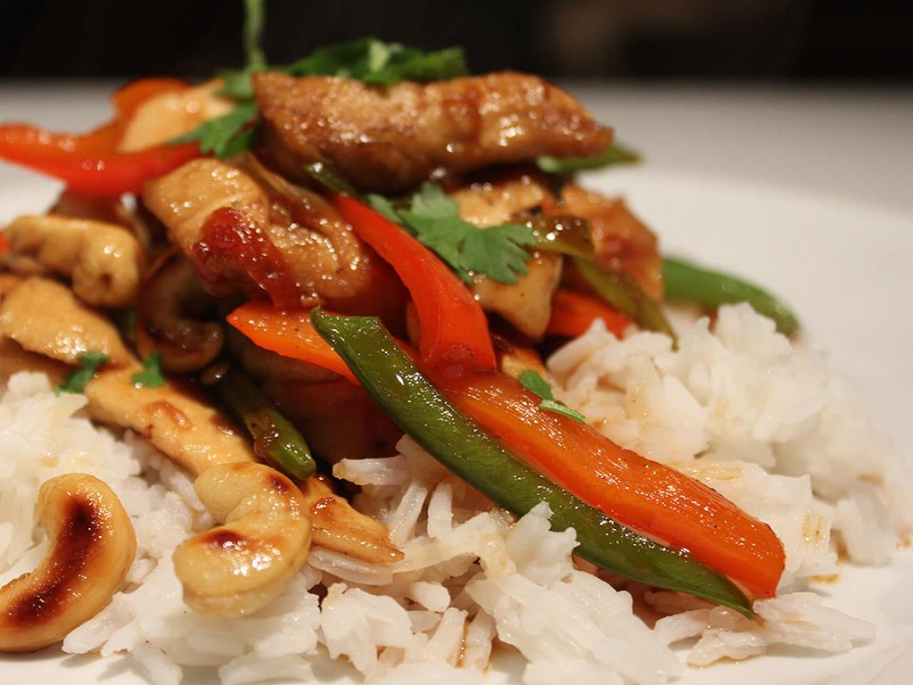 Chicken & Chilli Jam Stir Fry