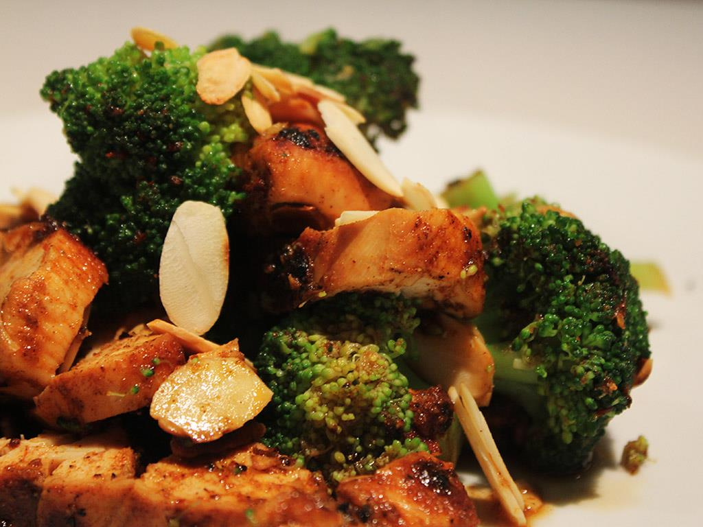 Chicken with Broccoli & Almonds
