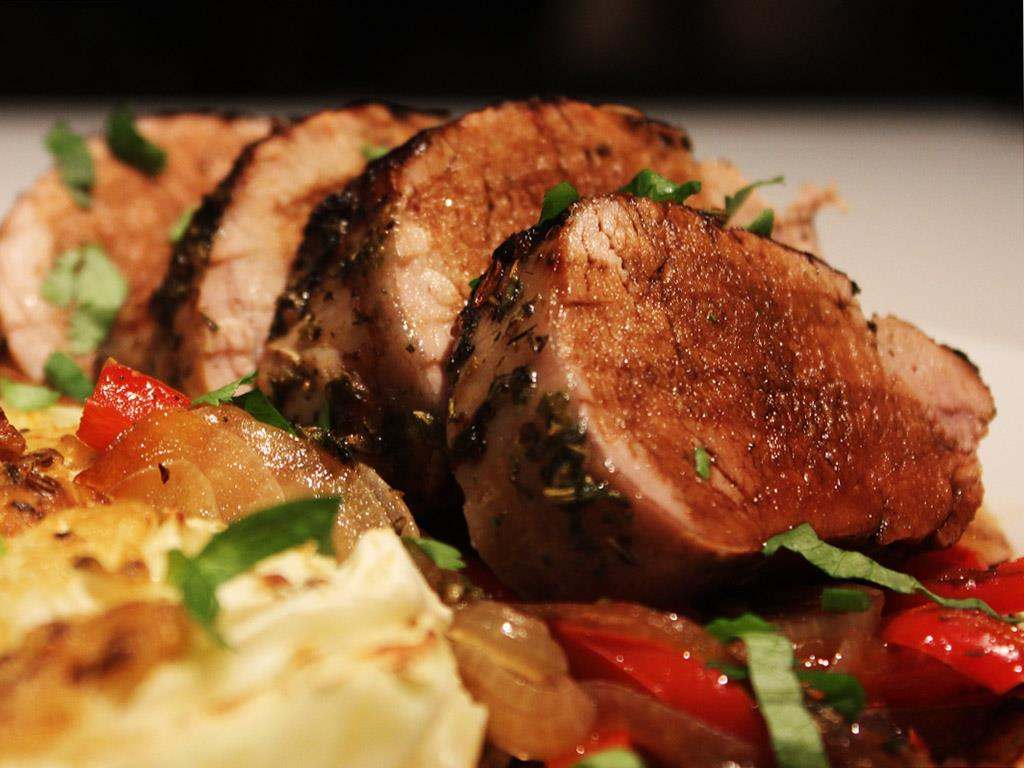 Solo: Balsamic Glazed Pork Fillet