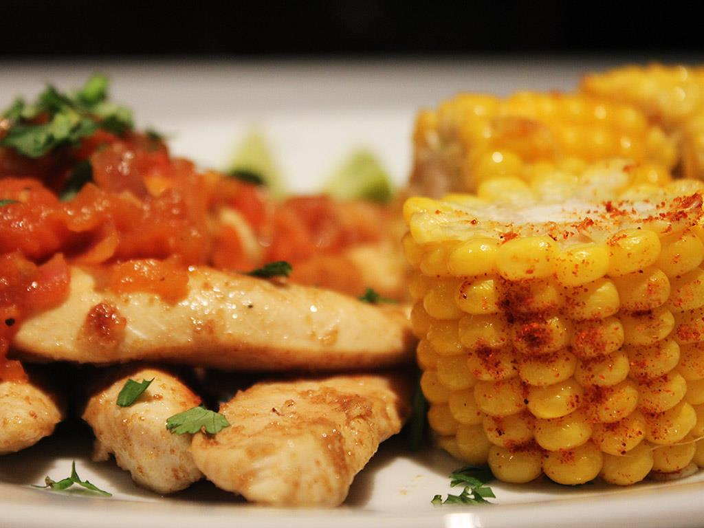 Tomato Chicken & Sweetcorn