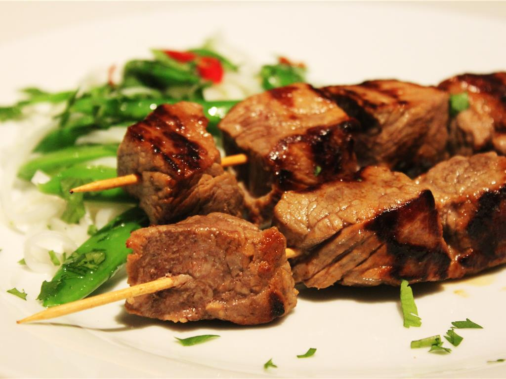 Chilli & Lime Beef Skewers