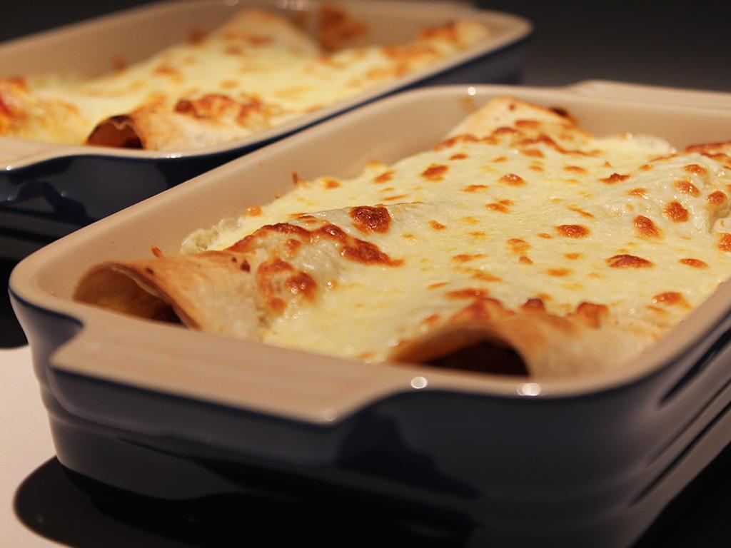 Steak Mince Enchiladas