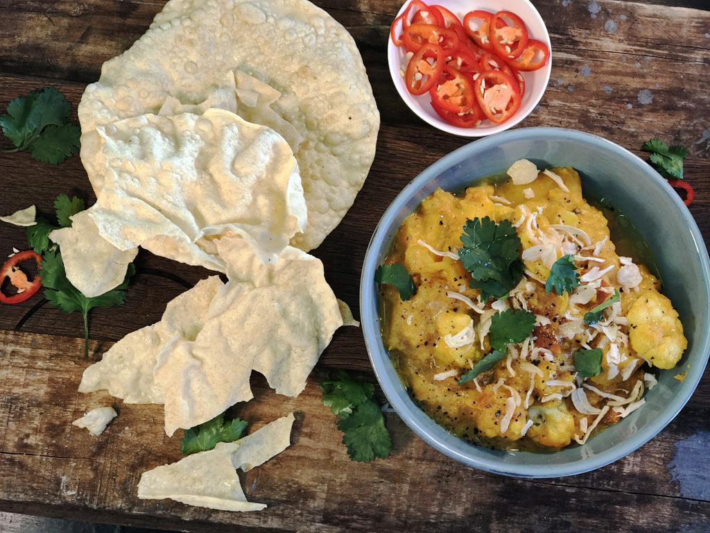 Butternut & Cauliflower Curry