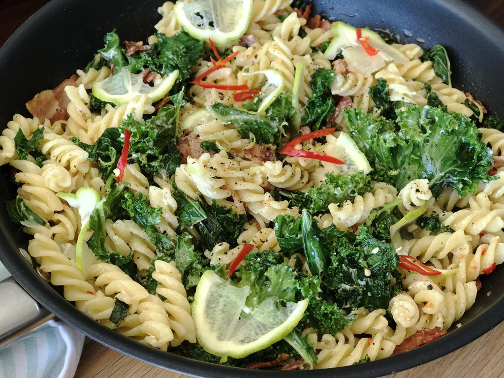 Kale & Bacon Fusilli