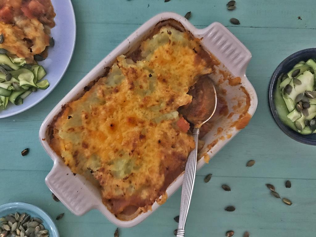 Solo: Sweet Potato Cottage Pie