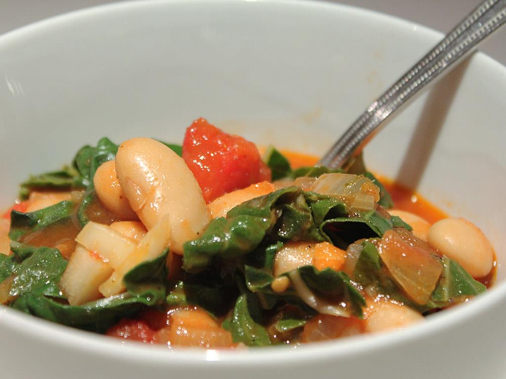Chard & White Bean Stew