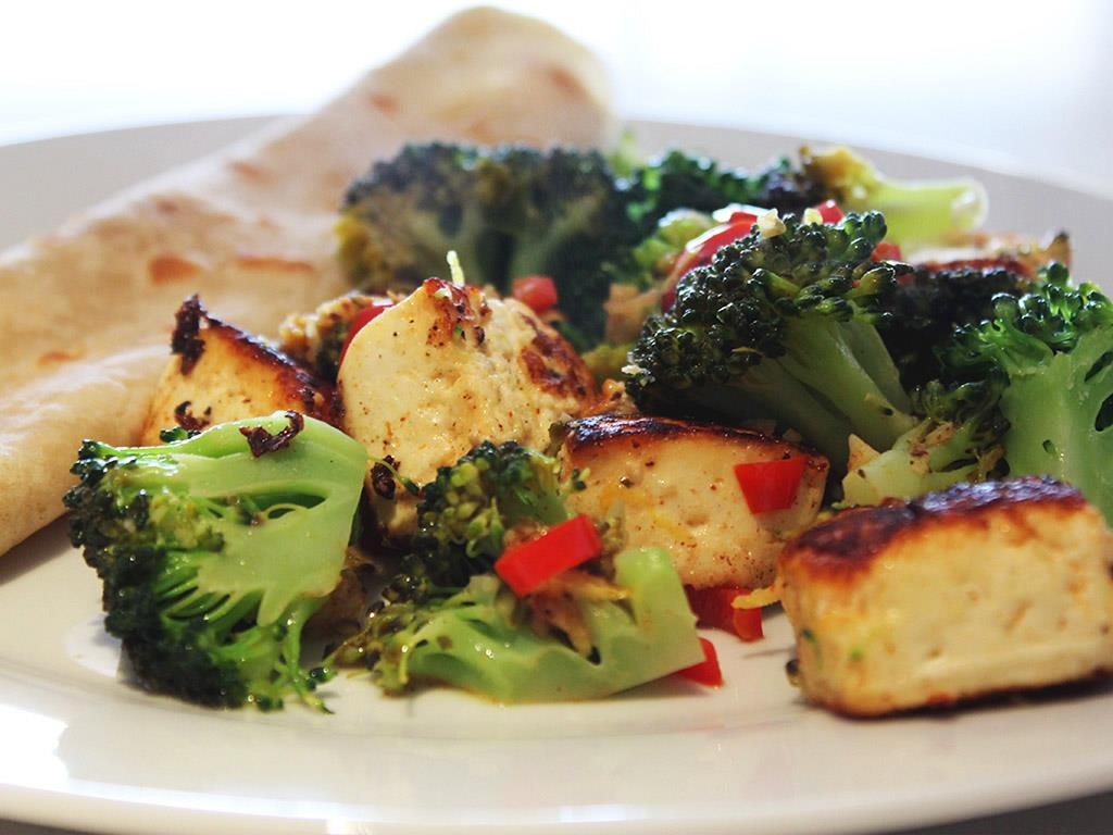 Spicy Paneer & Broccoli