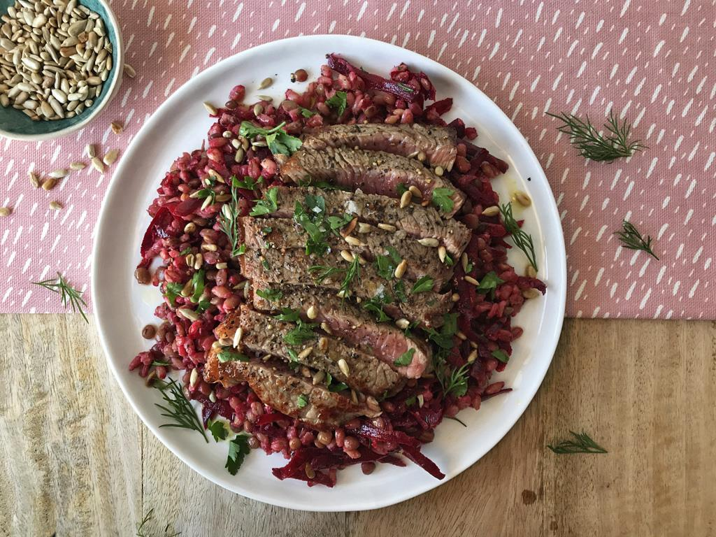 Rump & Beetroot Salad