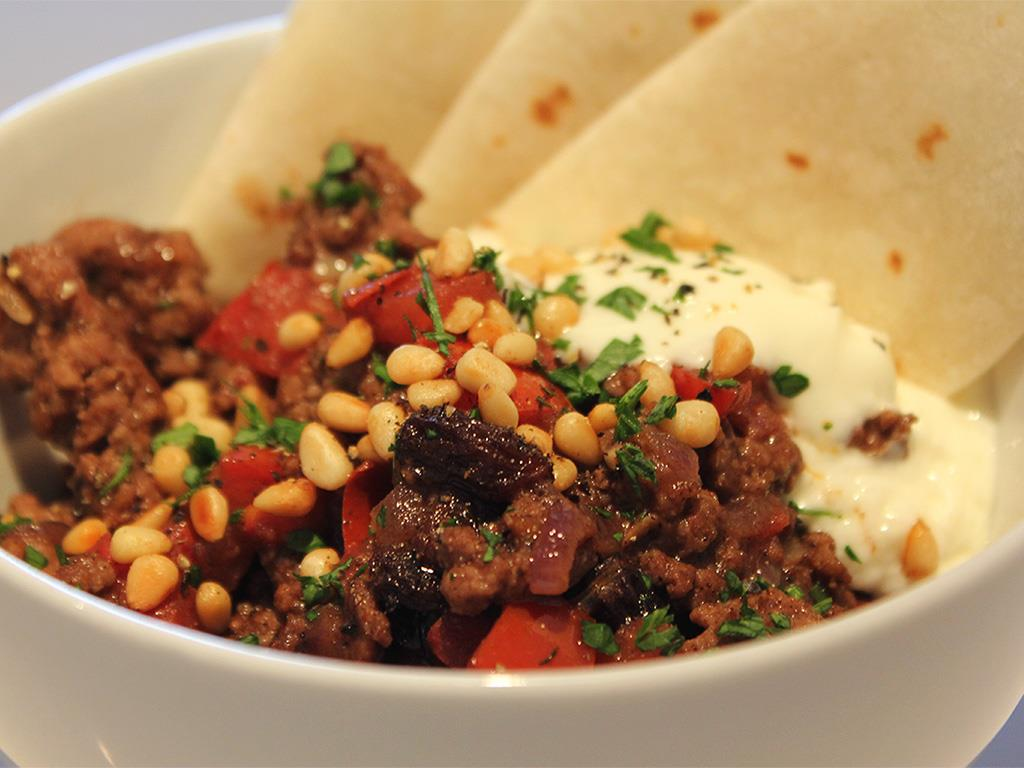Spicy Moroccan Mince