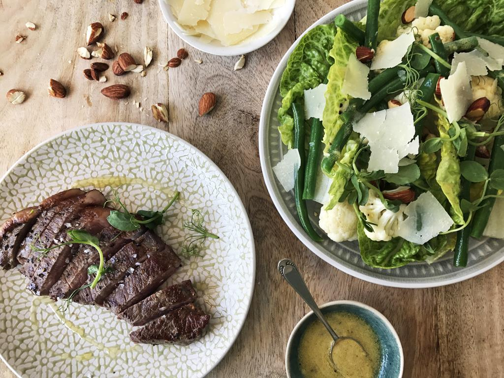 Solo: Steak & Spring Salad