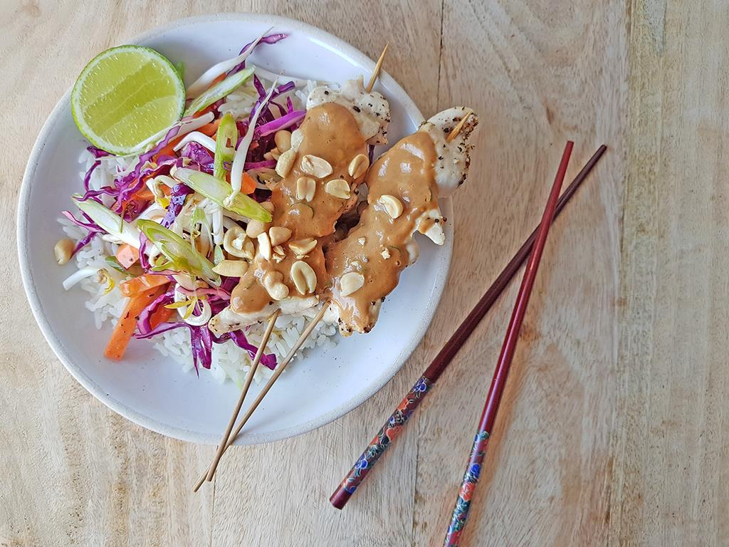 Peanut Satay Chicken