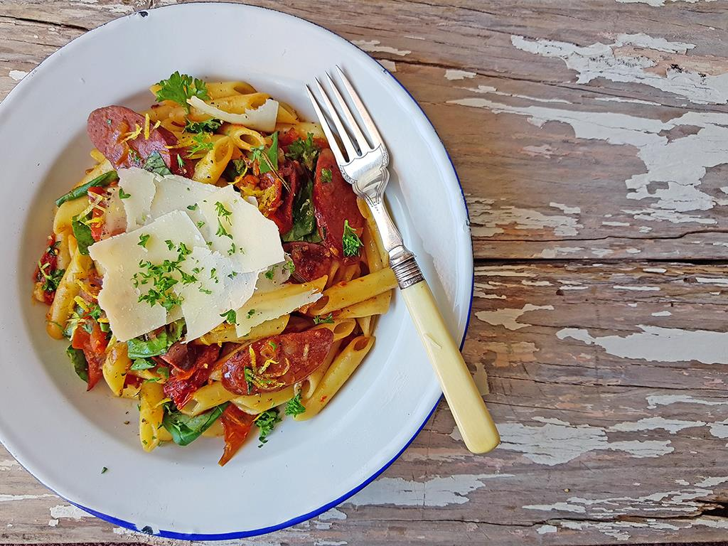 Spicy Penne