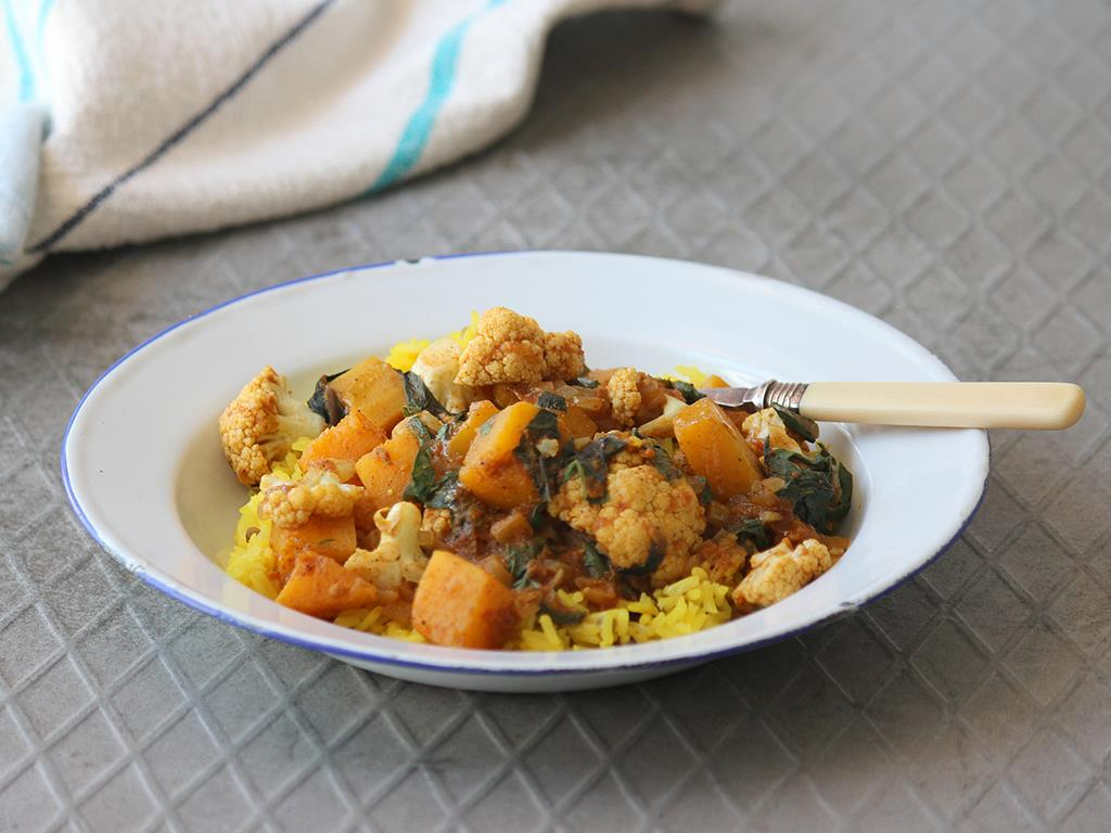 Cauli Coconut Curry