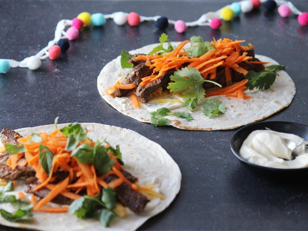 Easy Mexican Wraps