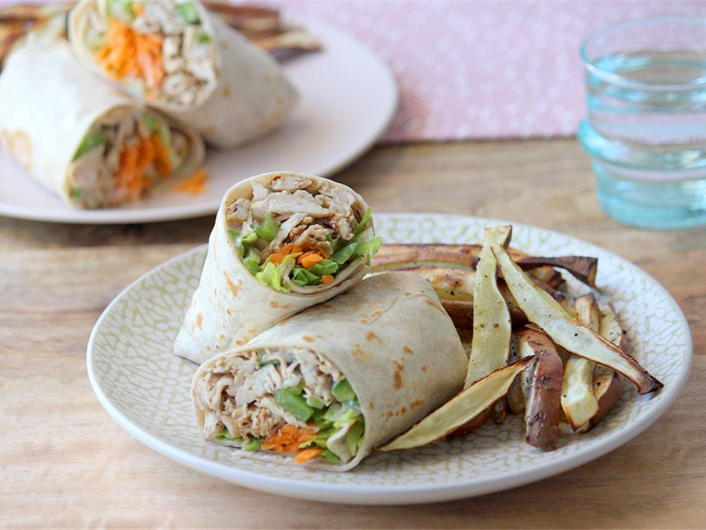 Solo: Shredded Chicken Wrap