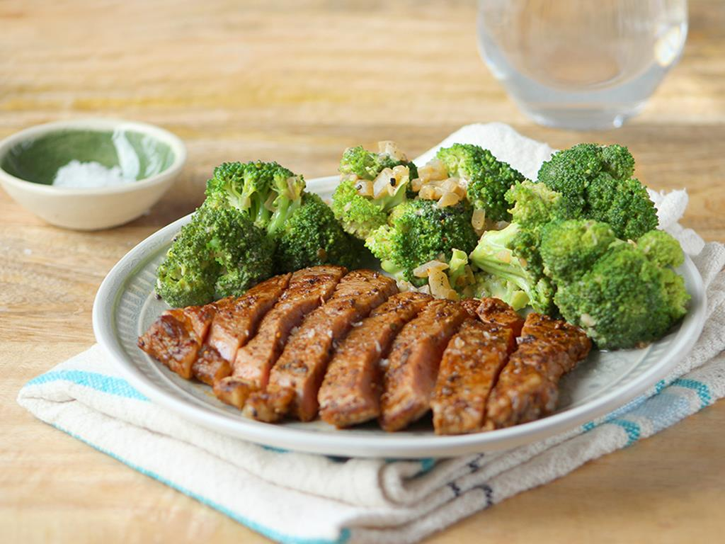 Cajun Broccoli & Rump