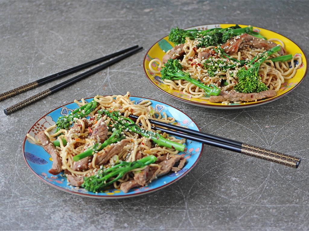 Solo: Ginger Stir-Fried Noodles
