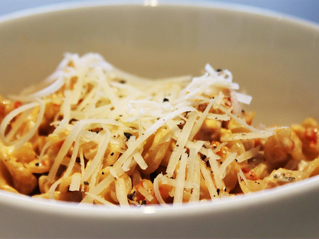 Solo: DNUFusilli with Goats Milk Cheese
