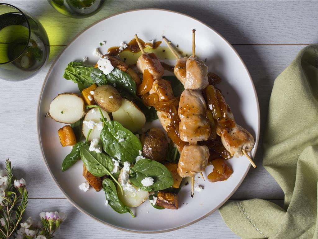 Solo: Ginger and Apricot Kebabs