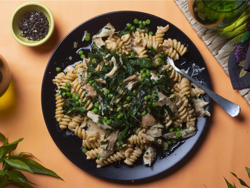 Creamy Chicken Fusilli