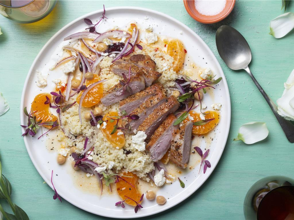 Turkish Chicken and Orange Salad