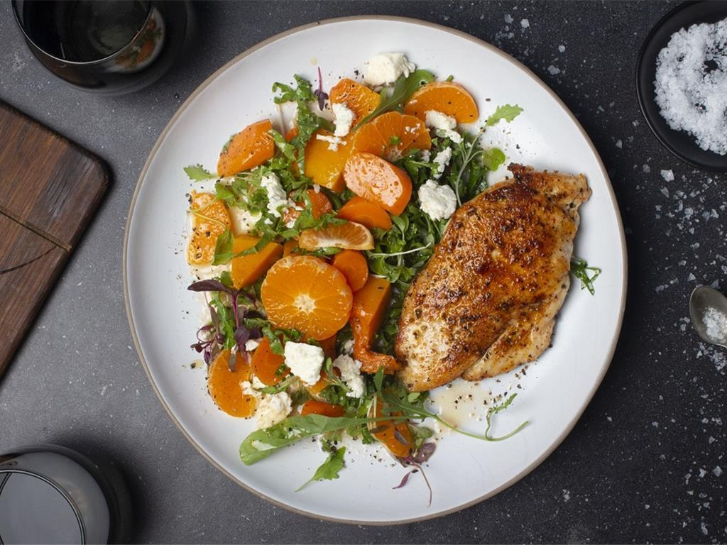 Berbere Chicken with Citrus Salad