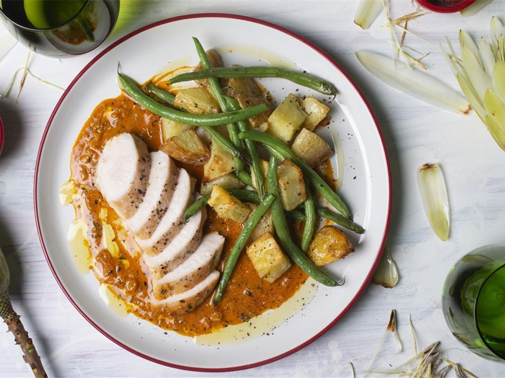 Grilled Chicken with Sundried Tomato Cream