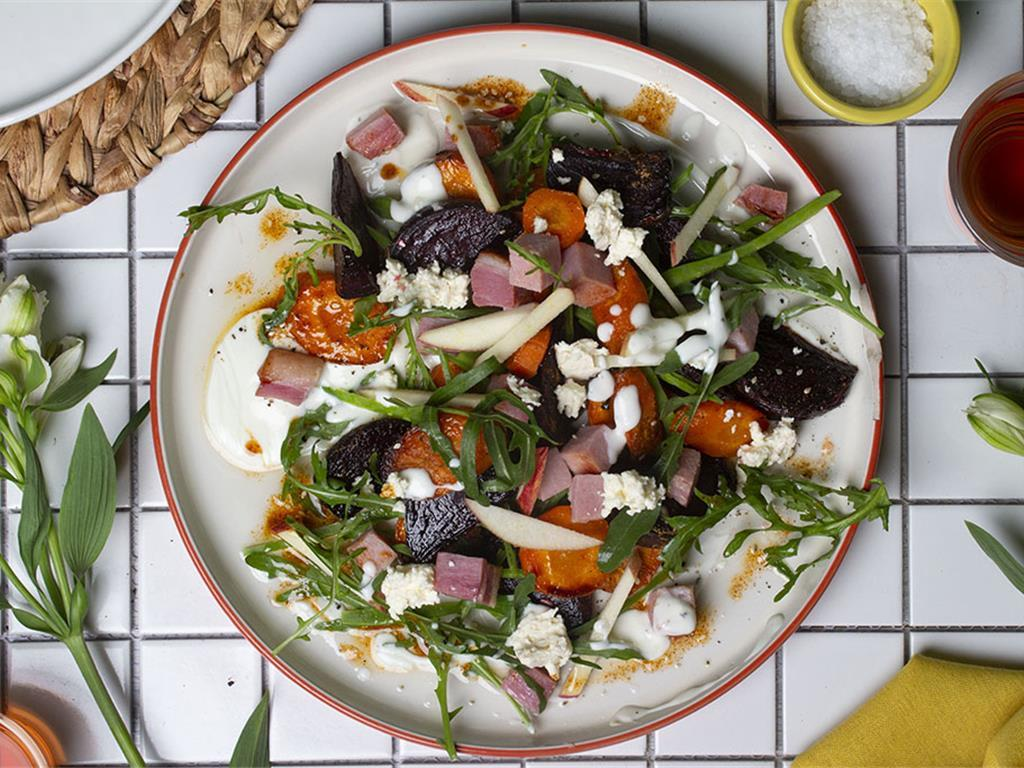 Solo: Dukkah Butternut and Beetroot Salad