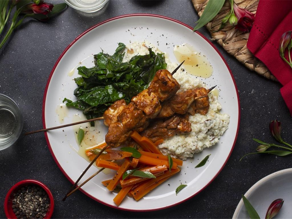 Solo: West African Chicken Skewers