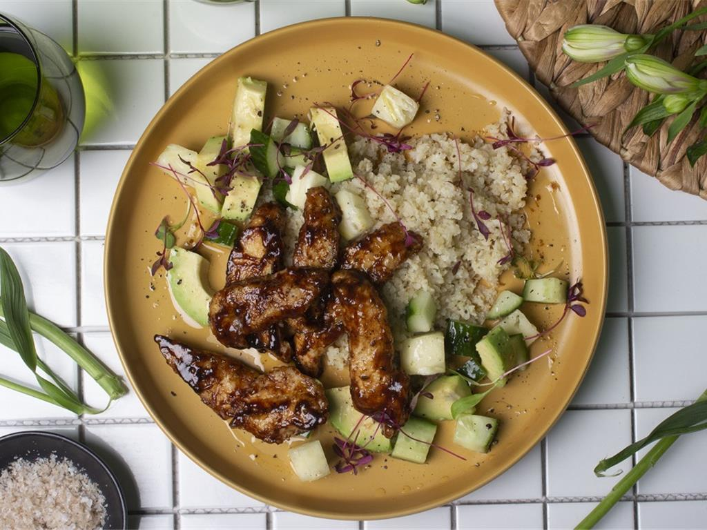 Solo: Jerk Chicken with Pineapple and Avo Salsa