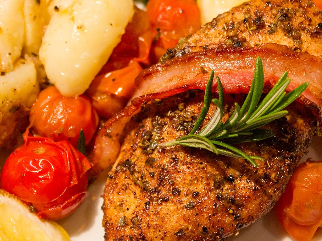 Herbed Chicken & Rosemary Potatoes