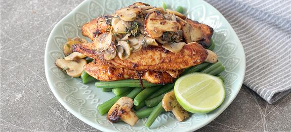 Paprika Chicken With Mushrooms Recipes — Dishmaps